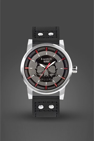 İ-Watch Genuıne Leather-Erkek Kol Saati- 5320.C1