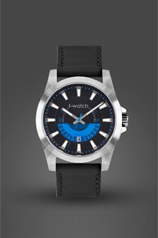 İ-Watch Genuıne Leather-Erkek Kol Saati- 5346.C5